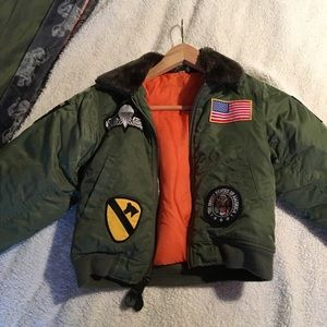 Other - Army bomber jacket.